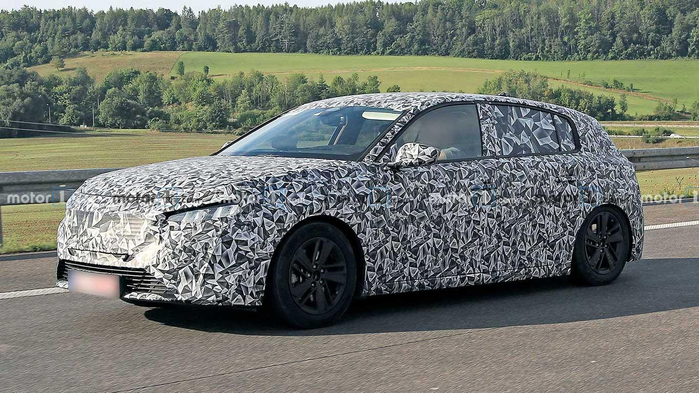 Nuevo Peugeot 308 (2021) foto espía