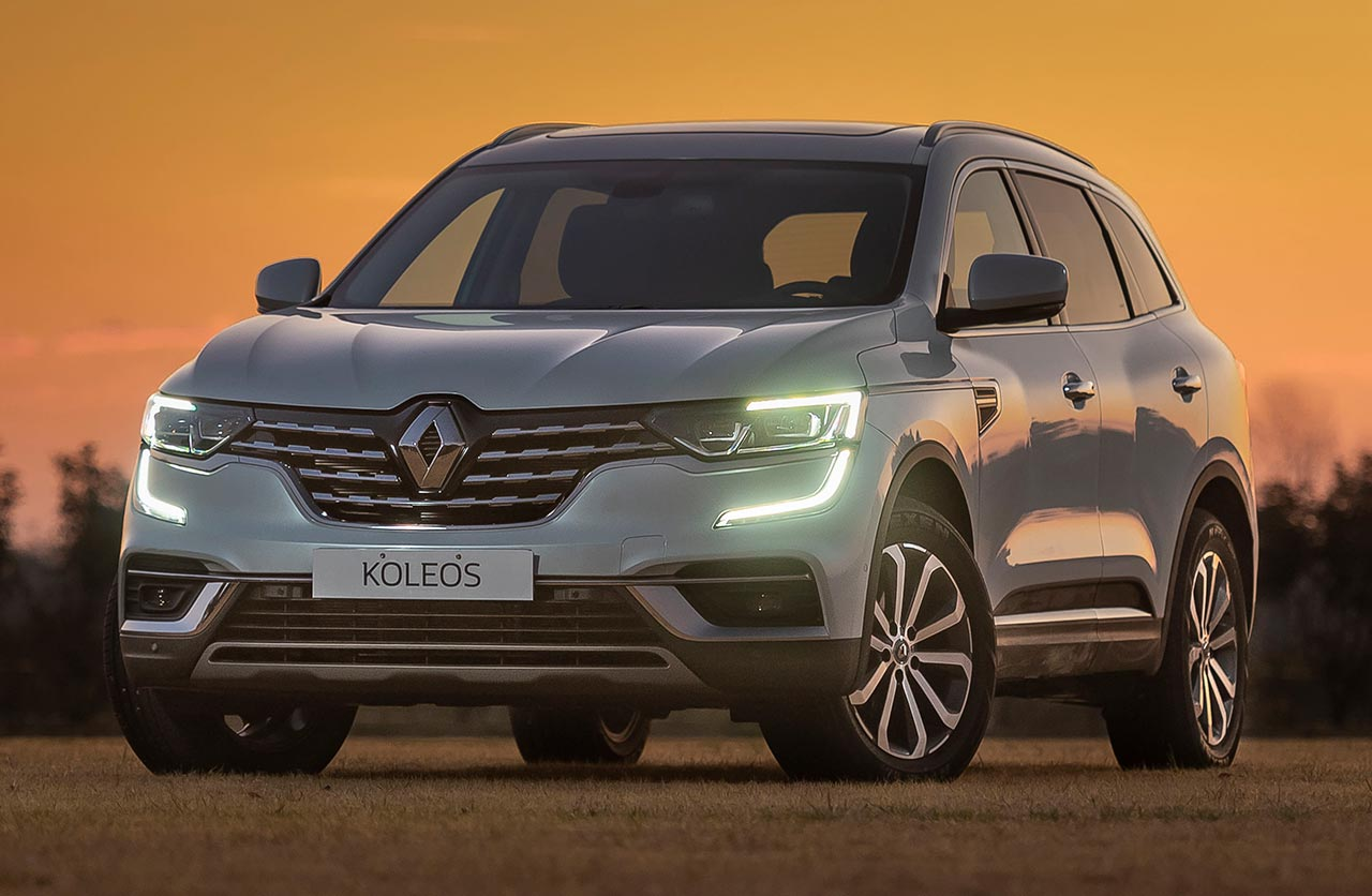 El Renault Koleos llega renovado a Argentina