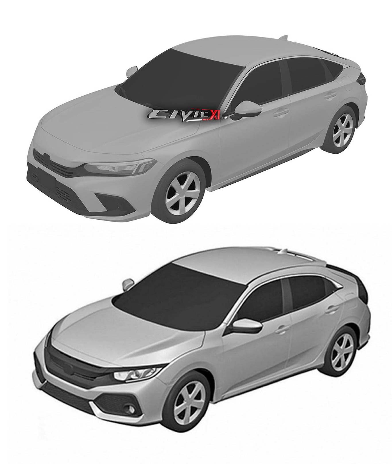 Honda Civic X vs XI