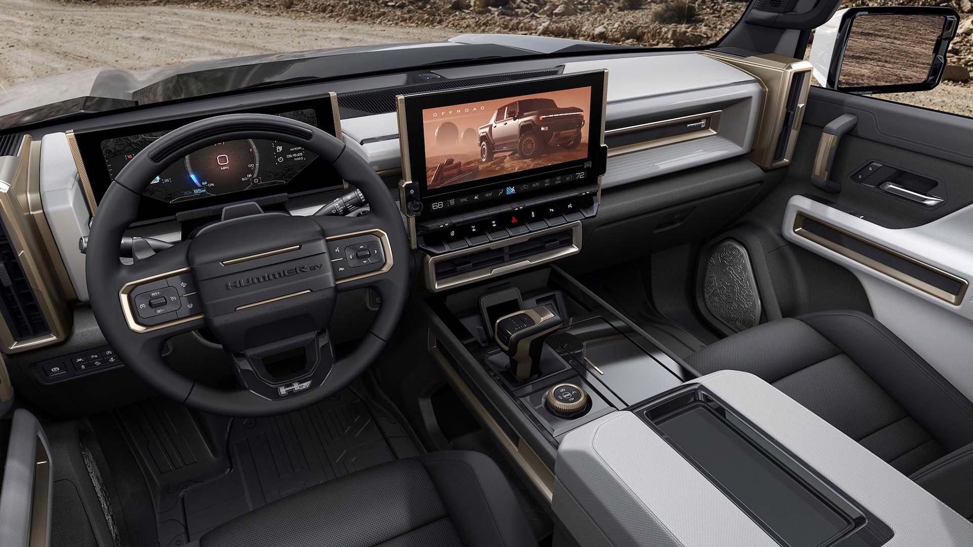 Interior GMC Hummer EV