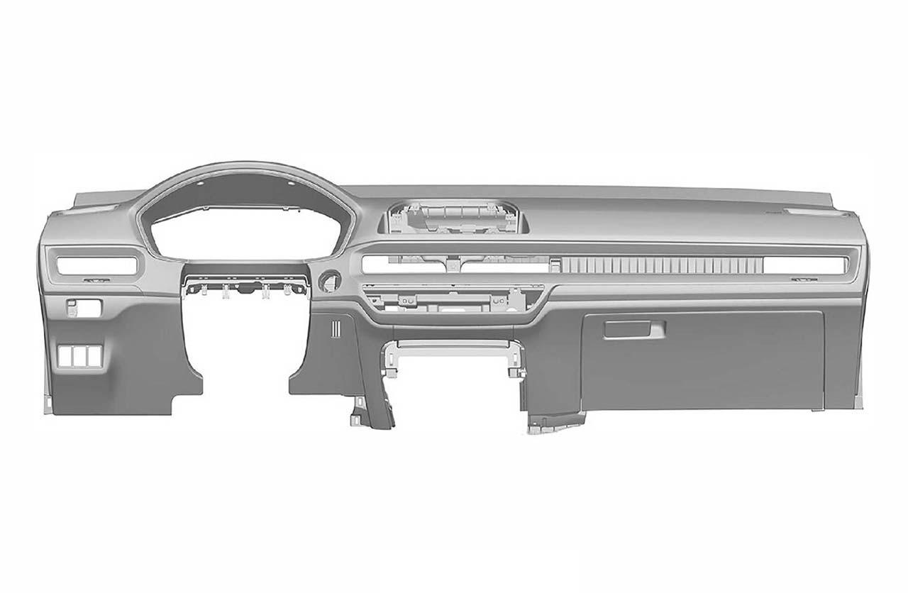 Interior Honda Civic 2022