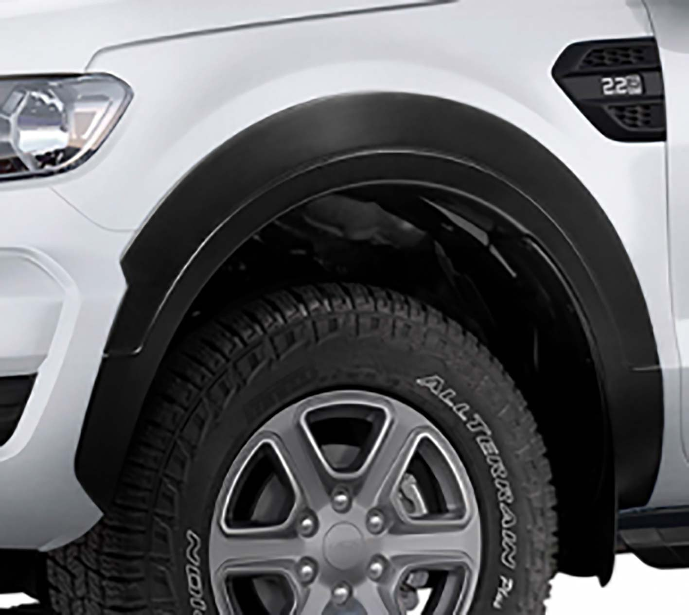 Apliques guardabarros Ford Ranger