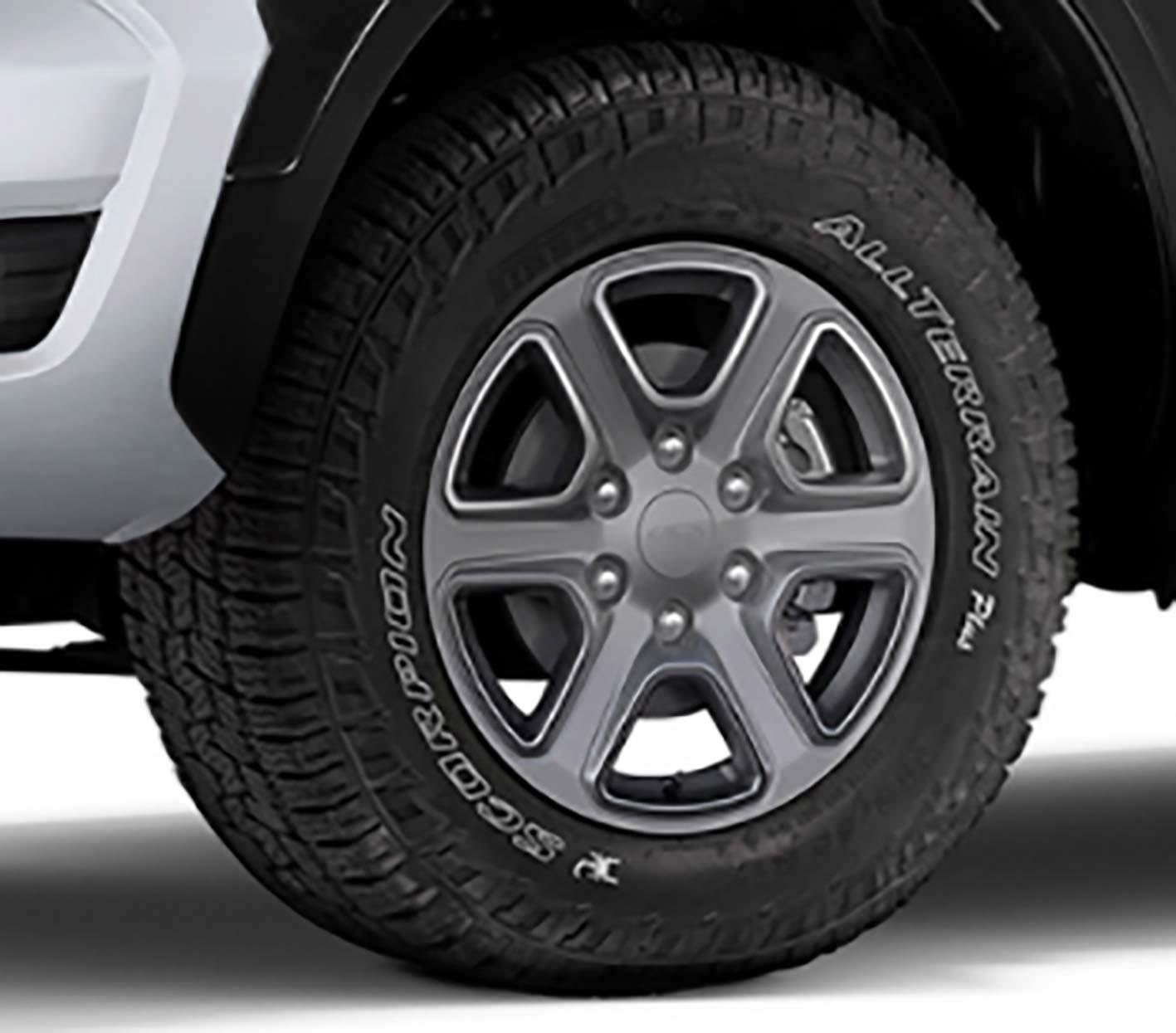Neumáticos AT Ford Ranger Storm