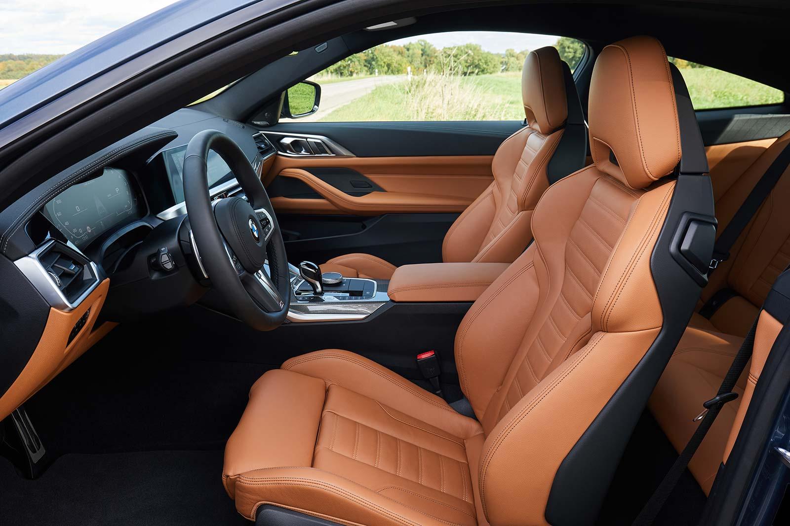 Interior Nuevo BMW Serie 4 Coupé