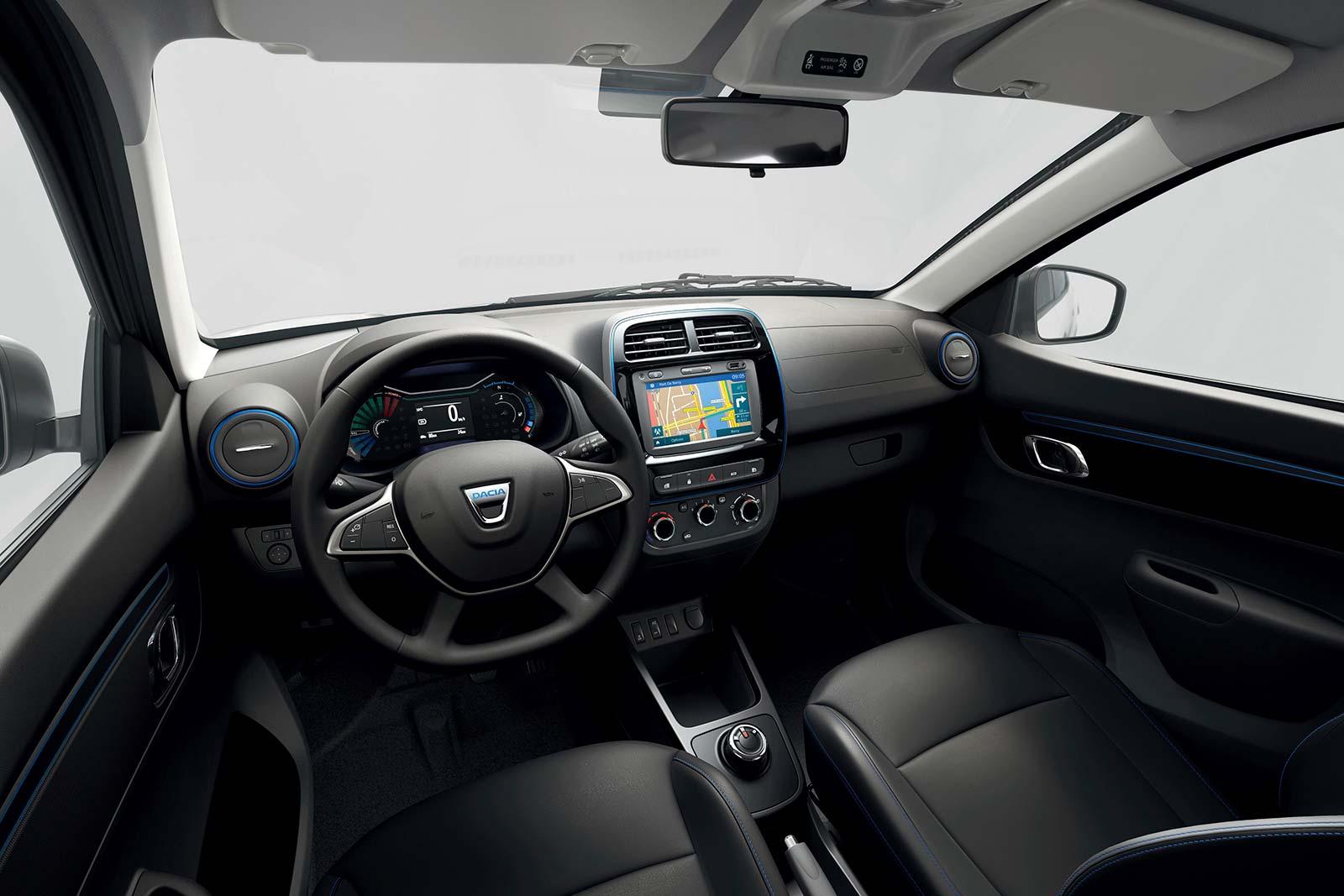 Interior Dacia Spring Electric