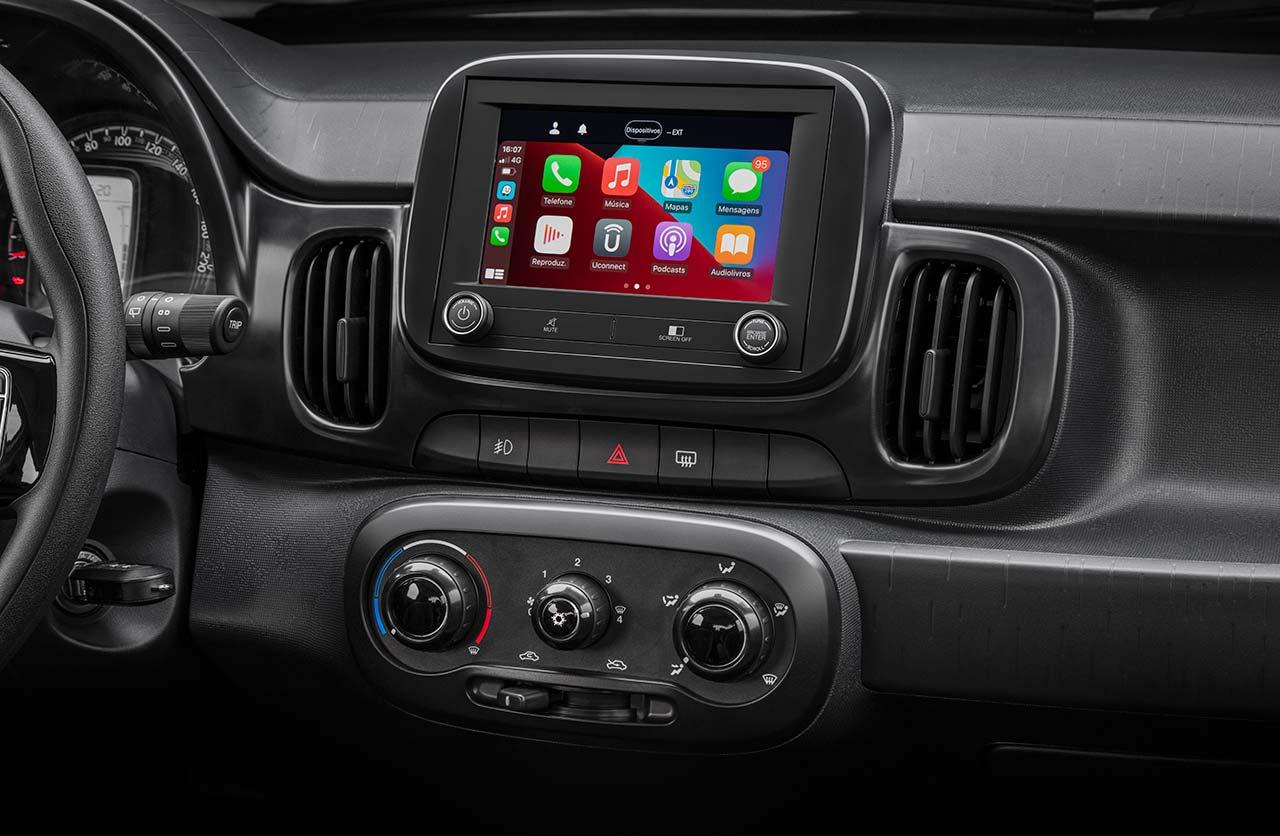Interior Fiat Mobi Trekking
