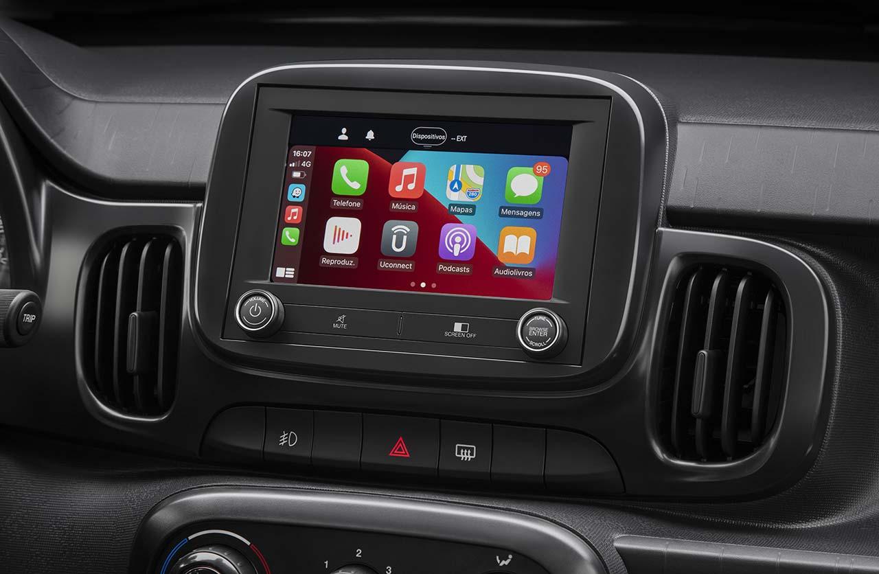 Interior nuevo Fiat Mobi