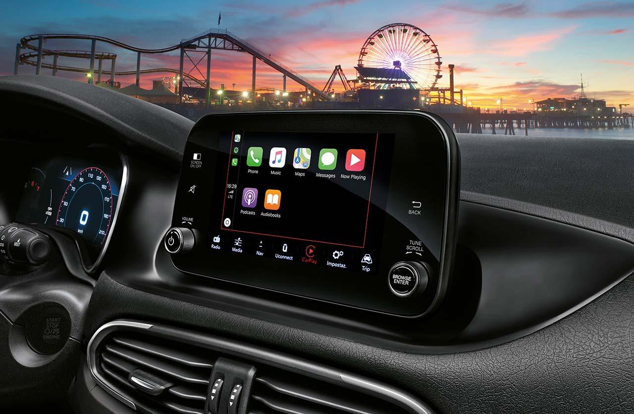 Interior Nuevo Fiat Tipo 2021