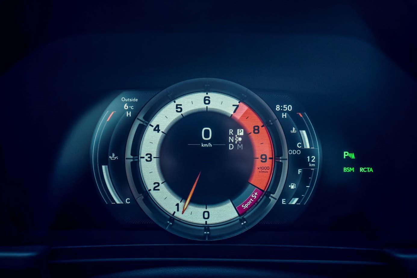 Tablero Lexus LC 500