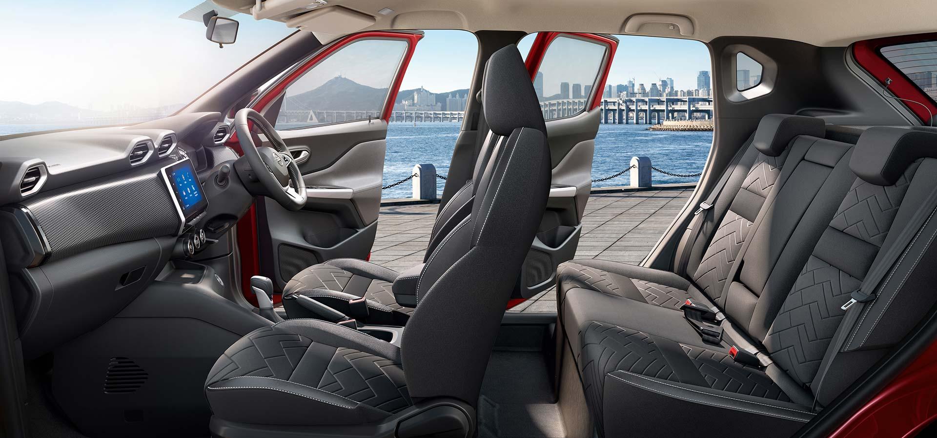 Interior Nissan Magnite