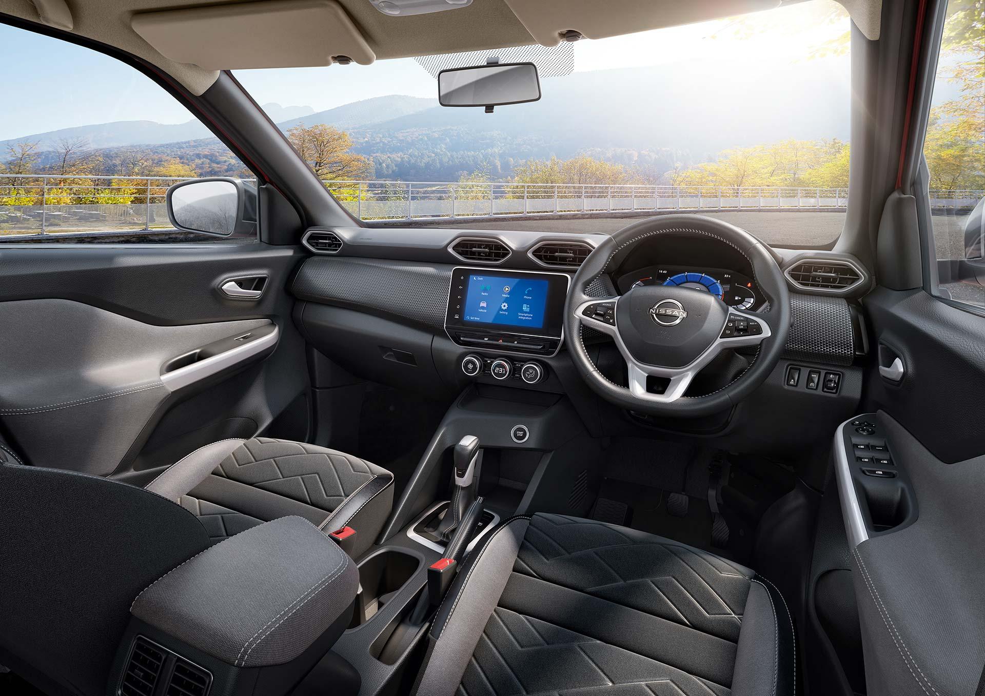 Interior nuevo Nissan Magnite
