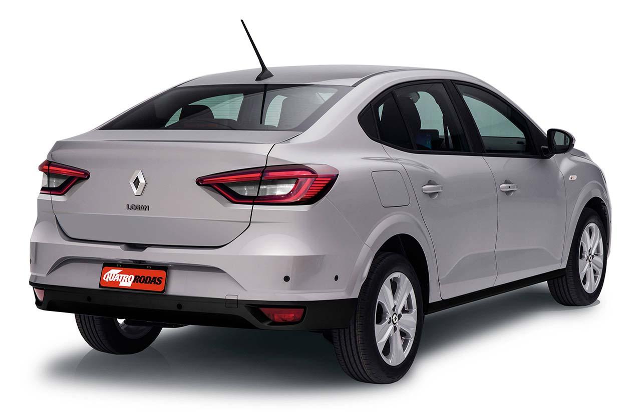 Nuevo Renault Logan 2022 proyección QR