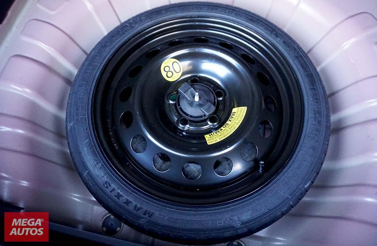 Rueda de auxilio temporal nueva Chevrolet Tracker