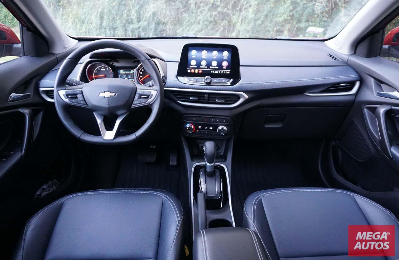 Interior nueva Chevrolet Tracker Premier