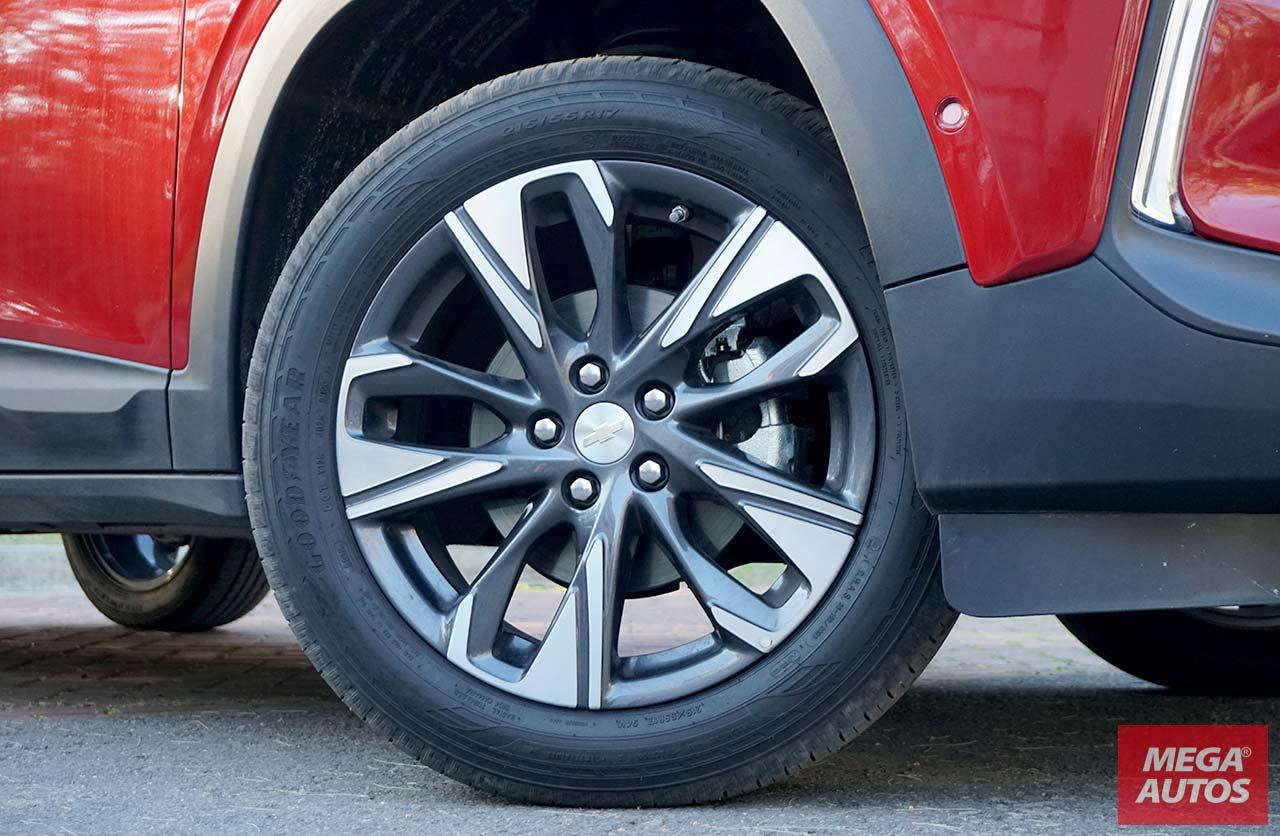 Llantas nueva Chevrolet Tracker