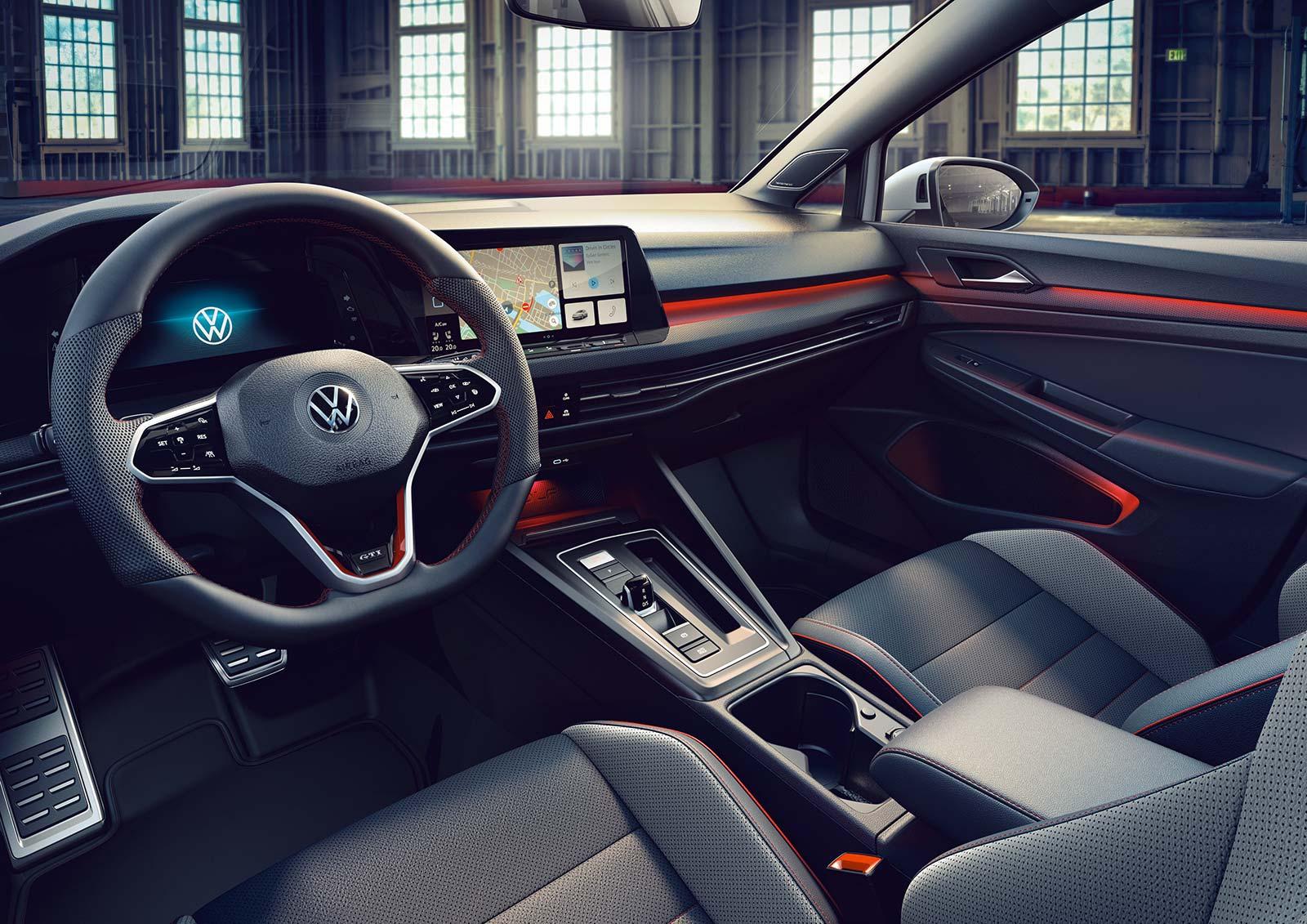 Interior Volkswagen Golf GTI Clubsport 2021