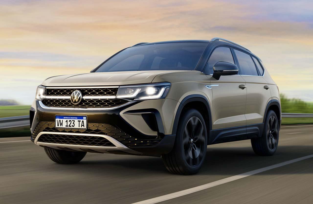 Volkswagen avanza con el Taos argentino