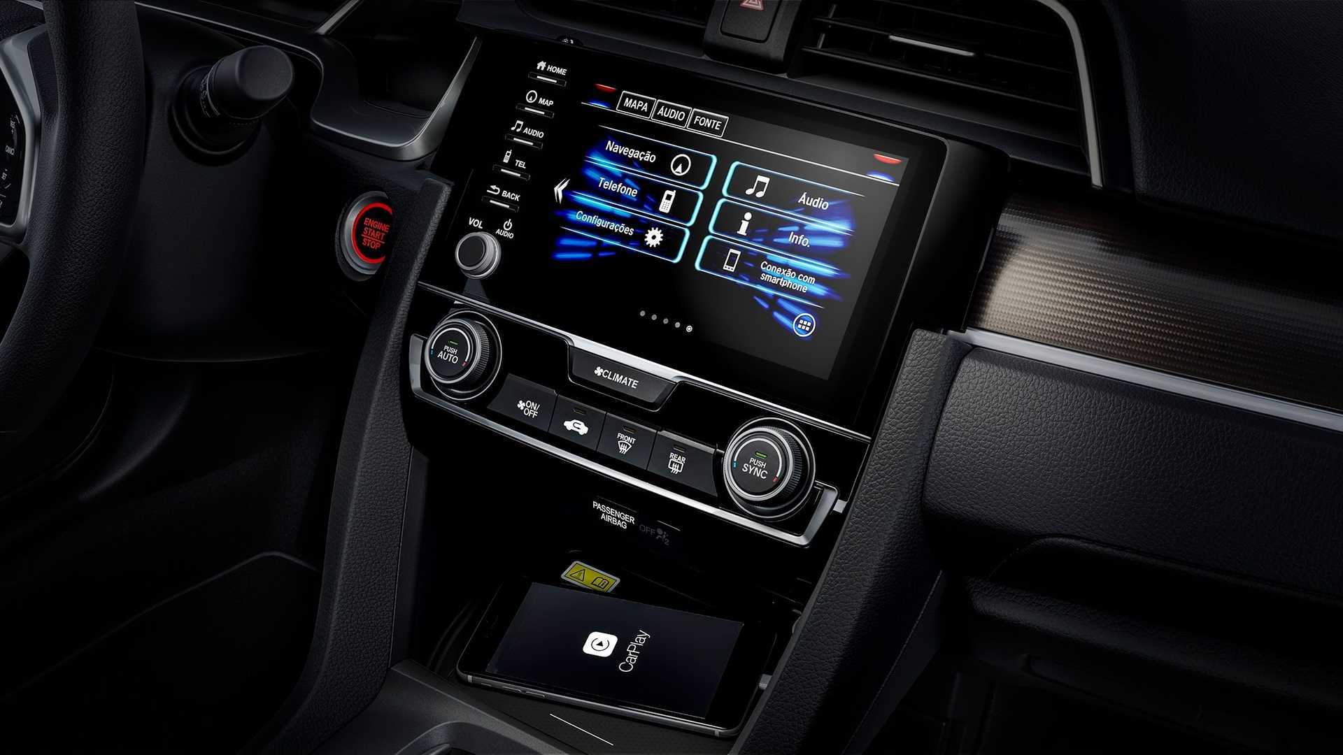Interior nuevo Honda Civic 2021