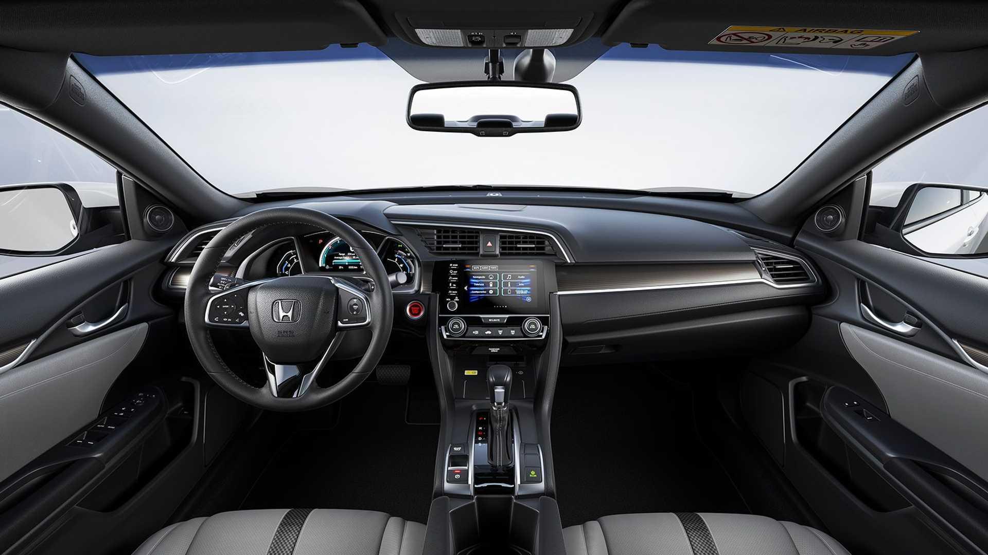 Interior Honda Civic 2021