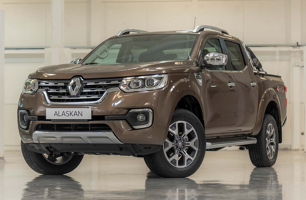 Renault ya vende la Alaskan nacional