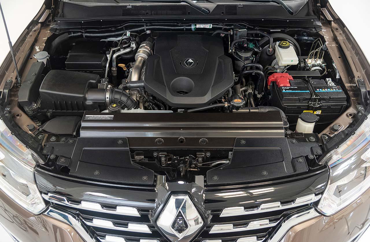 Motor Renault Alaskan