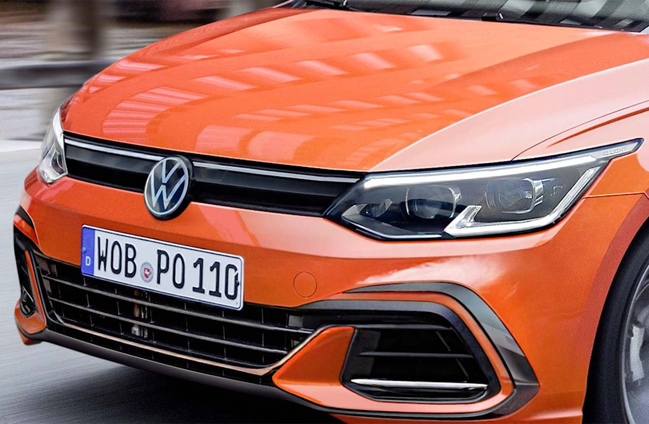 Volkswagen Polo 2021 restyling render