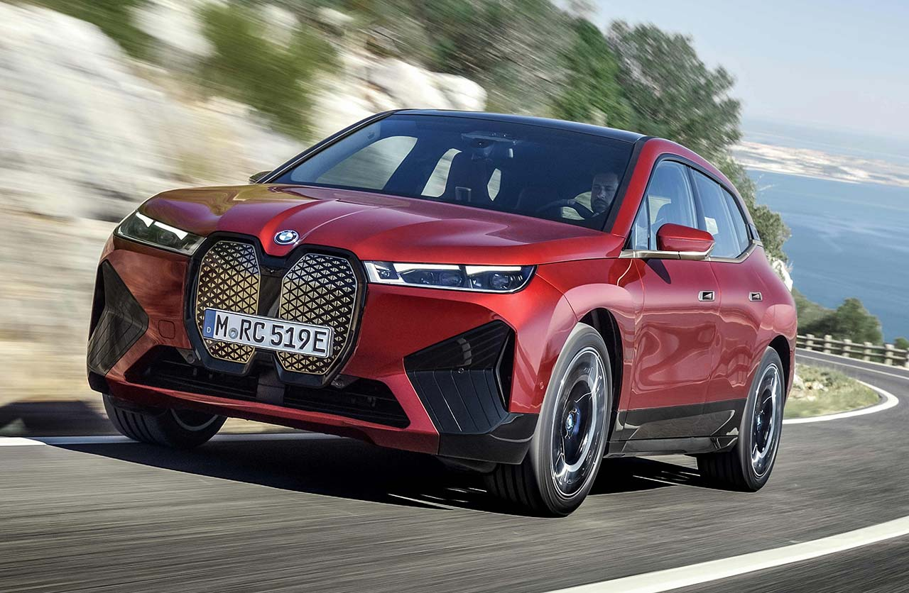 Así es el iX, el nuevo SUV eléctrico de BMW