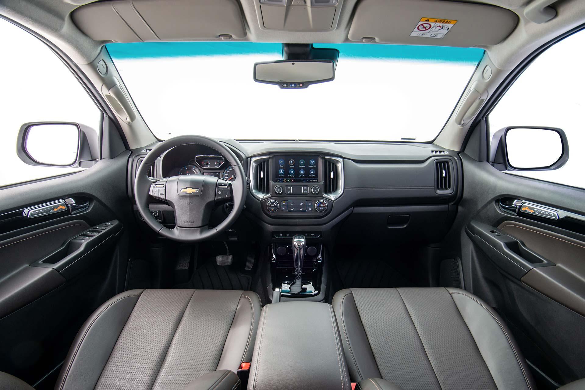 Interior nueva Chevrolet S10 High Country
