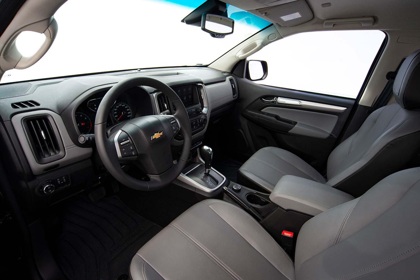 Interior Nueva Chevrolet S10 LTZ