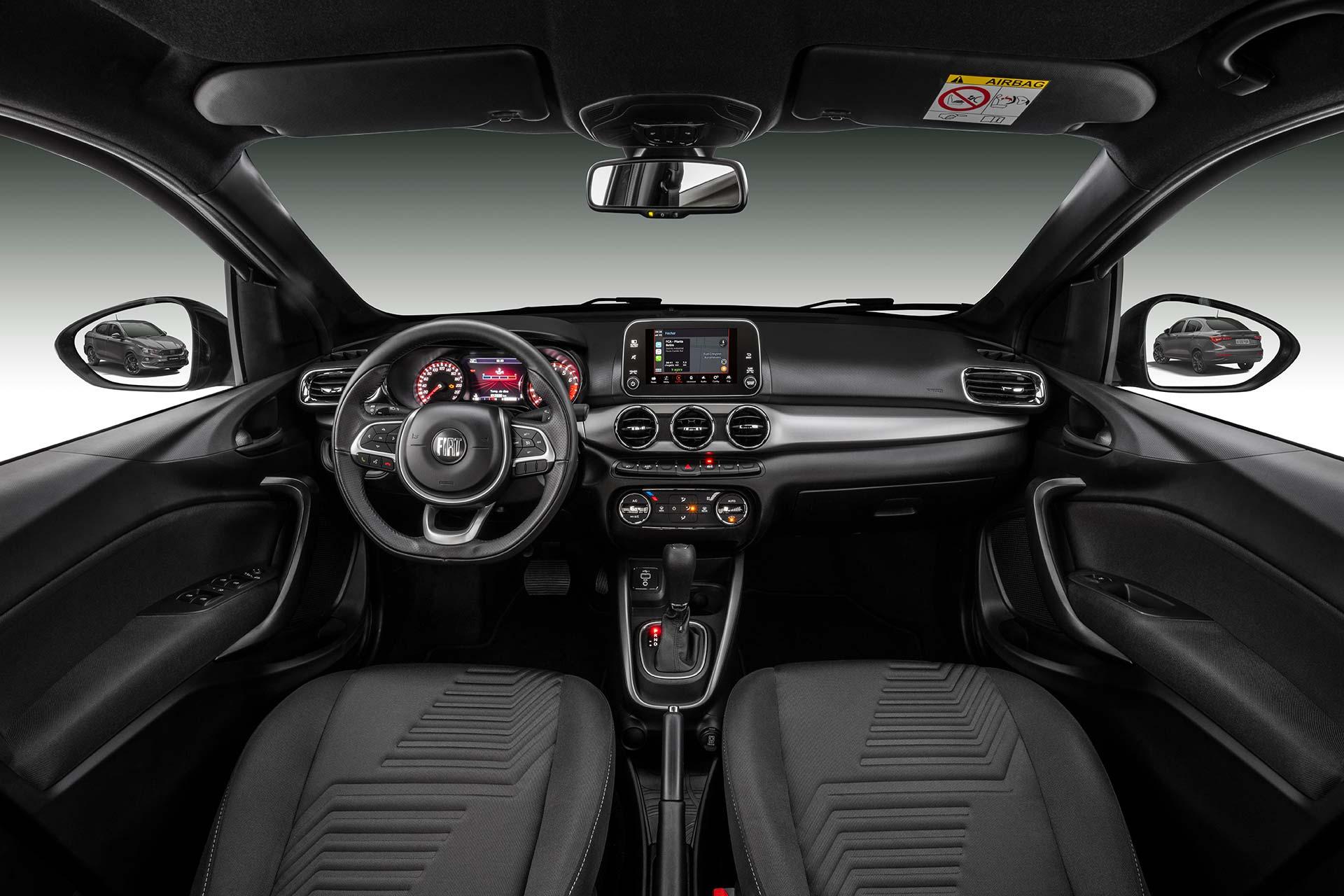 Interior Fiat Cronos 2021