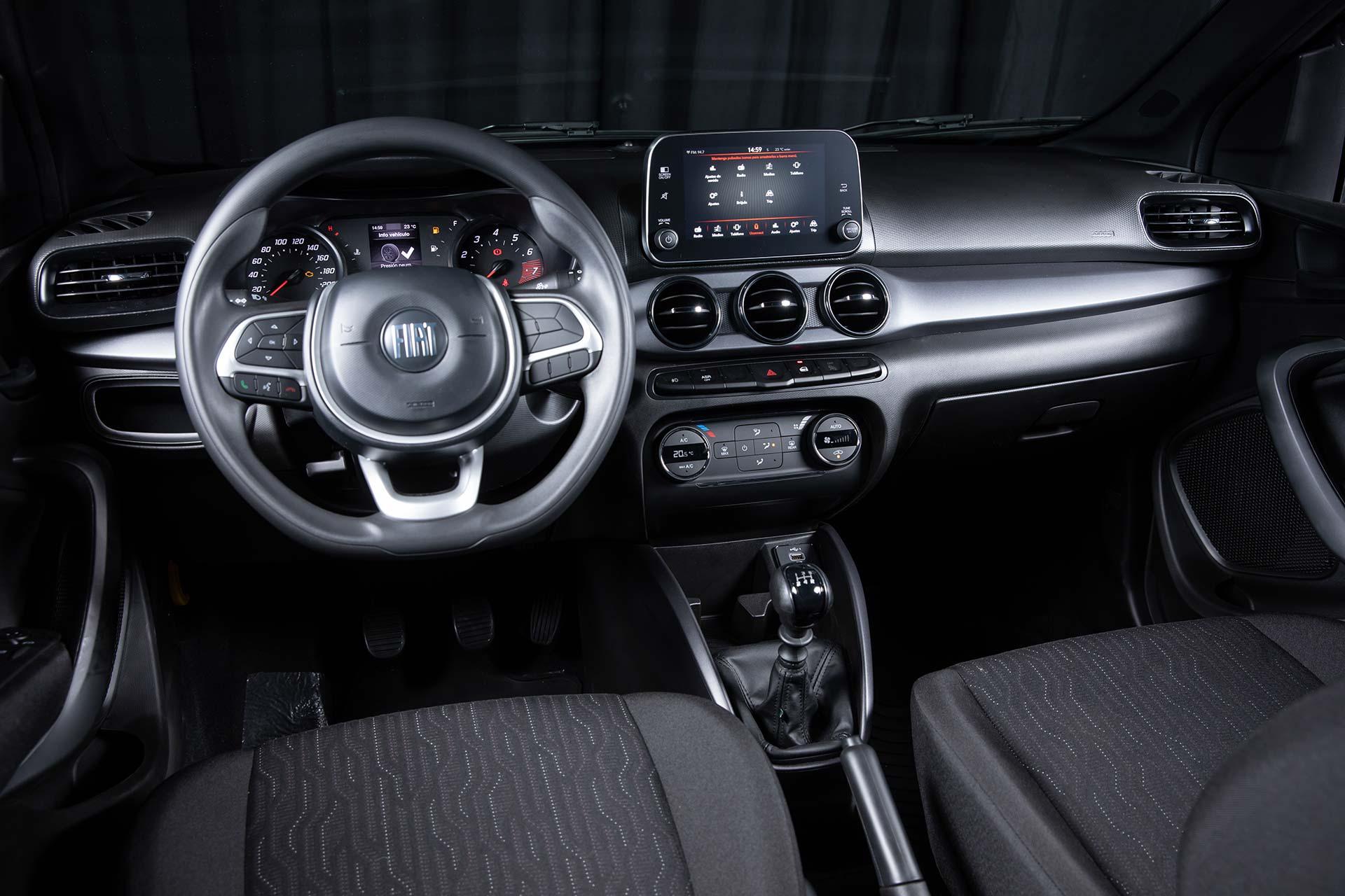 Interior Fiat Cronos S-Design 2021