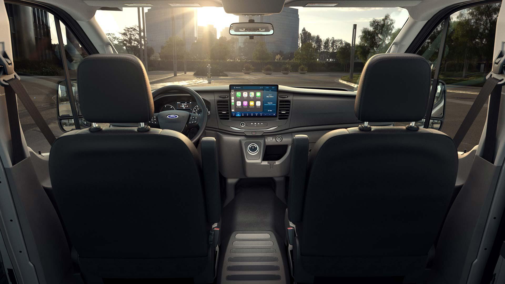 Interior Ford E-Transit