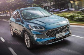Ford Kuga Híbrida: llegó la Titanium