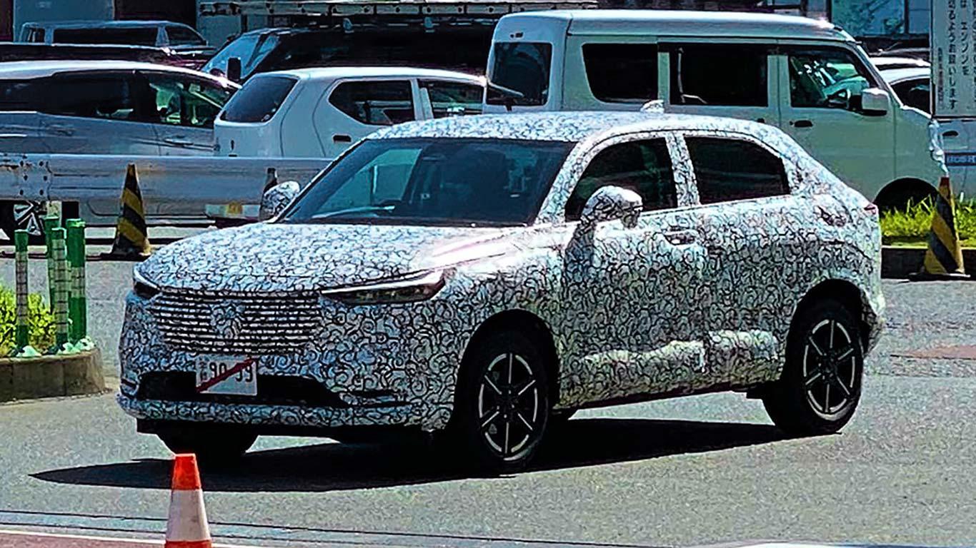 Nueva Honda HR-V 2021 foto espía