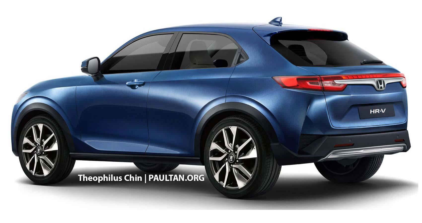 Nueva Honda HR-V 2021 render