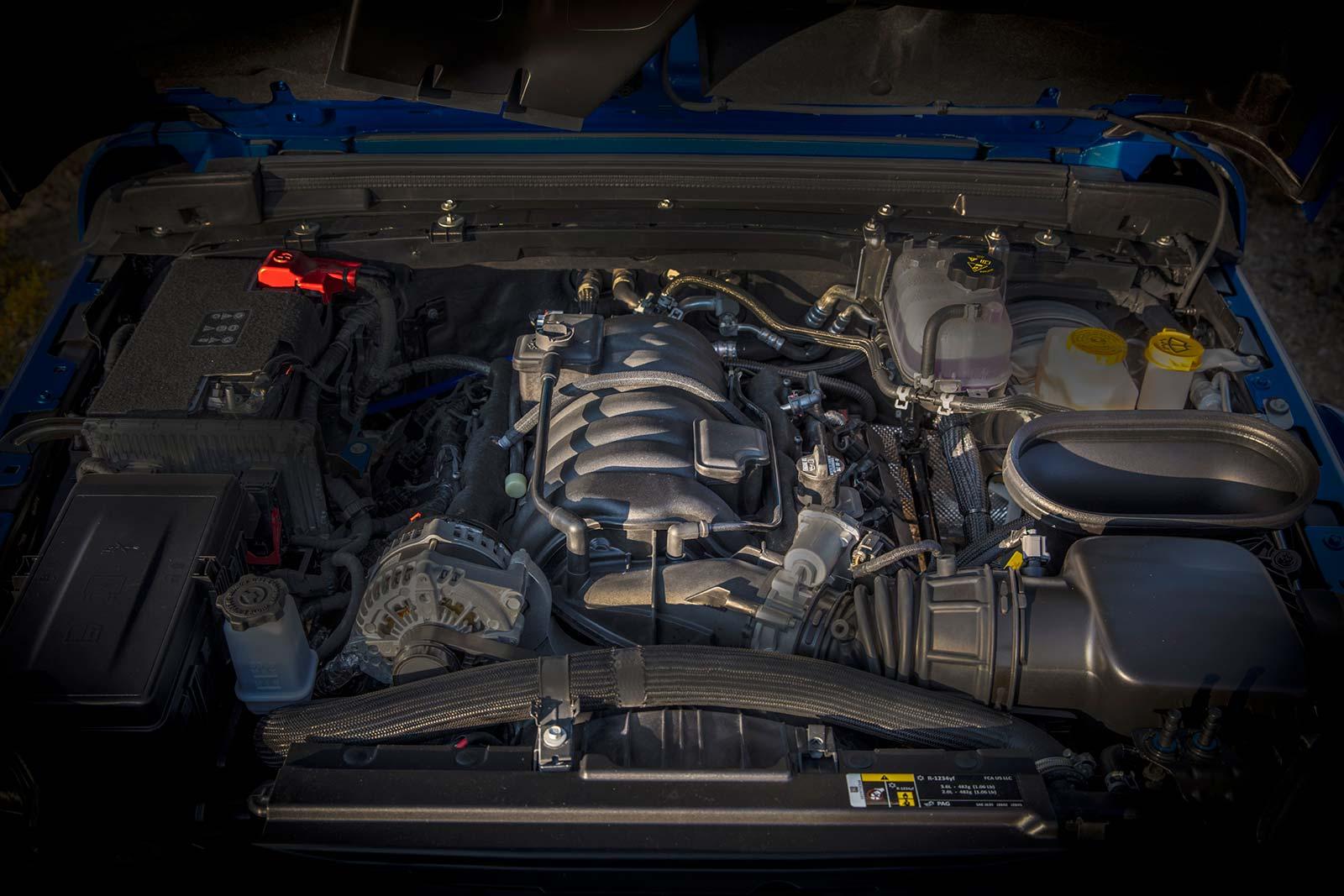 Motor V8 Jeep Wrangler Rubicon 392