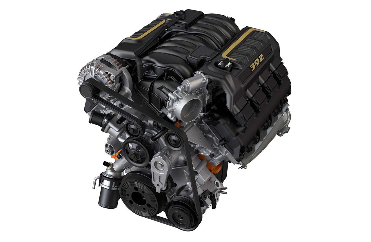 Motor Jeep Wrangler Rubicon 392