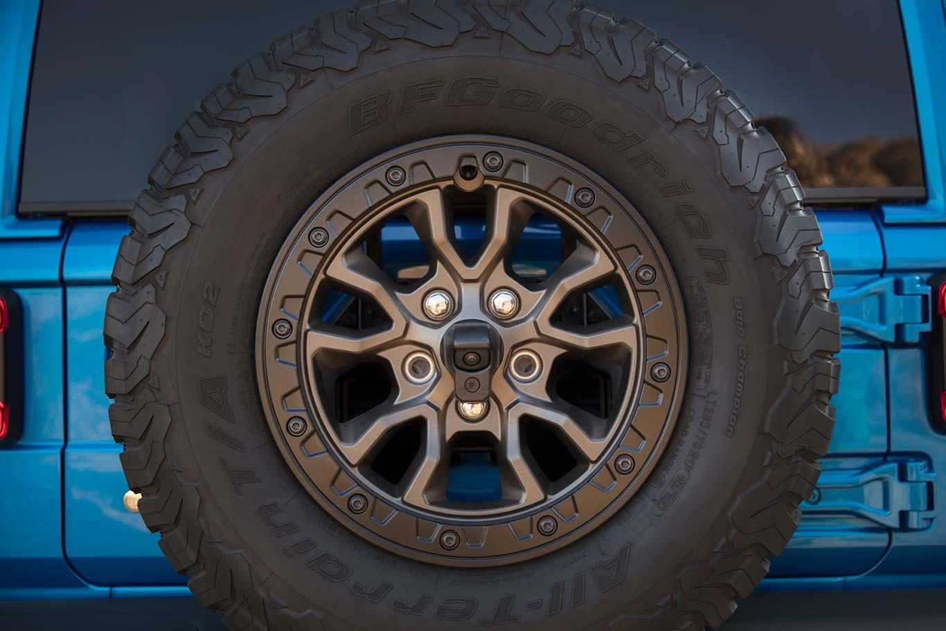 Llantas - neumáticos Jeep Wrangler Rubicon 392