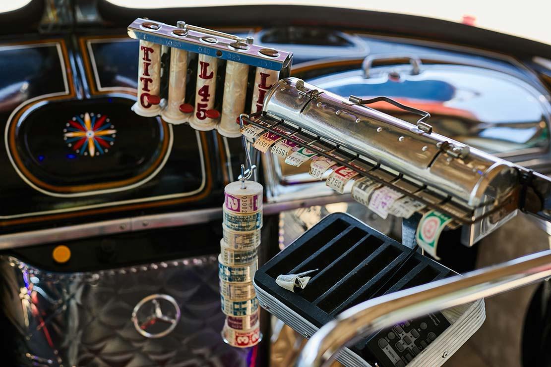 Expendedora de boletos Mercedes-Benz LO 1114