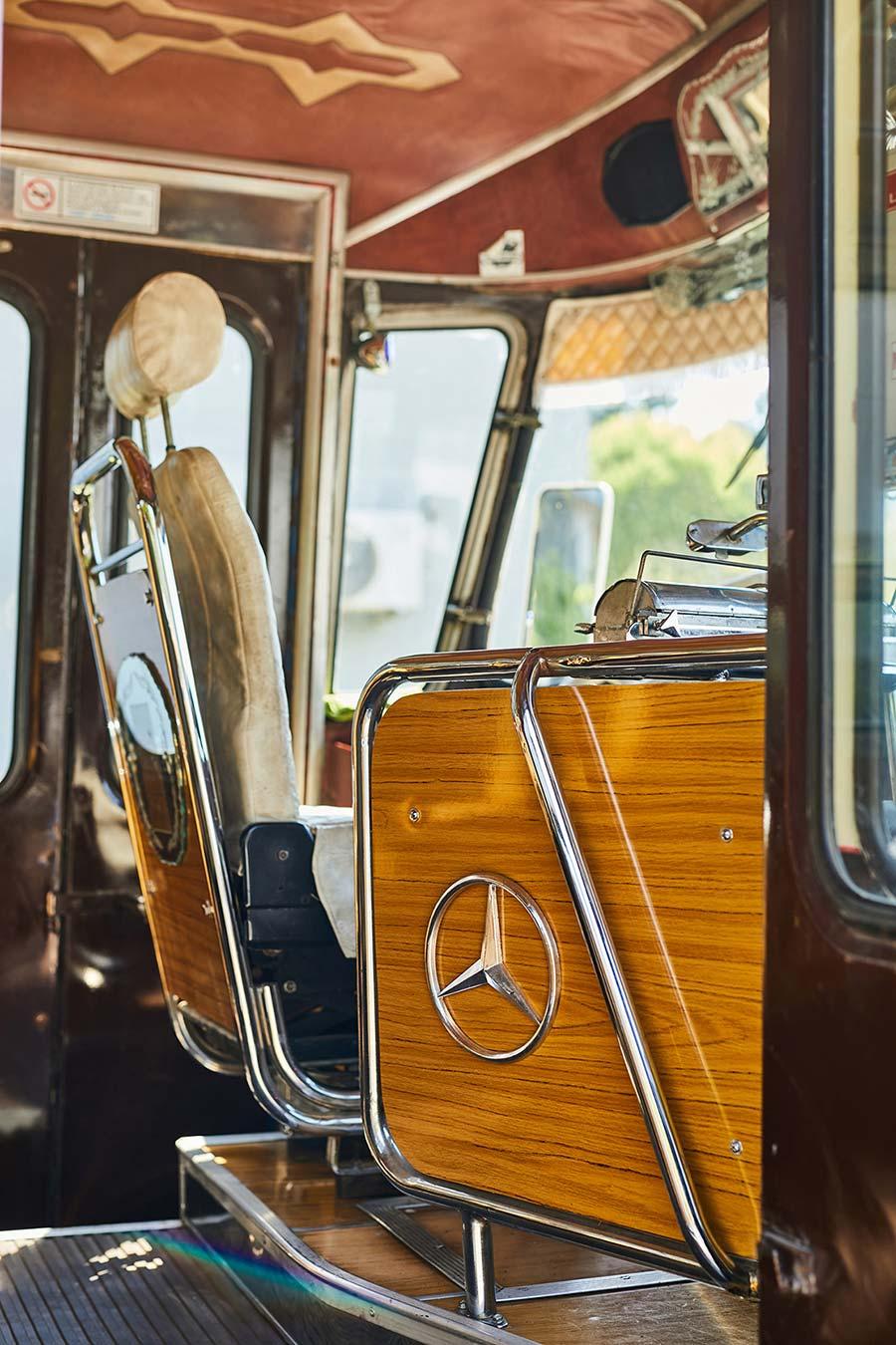 Butaca chofer Mercedes-Benz LO 1114
