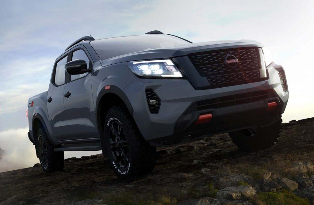 nueva-nissan-frontier-pro-4x-2021-frontal - mega autos