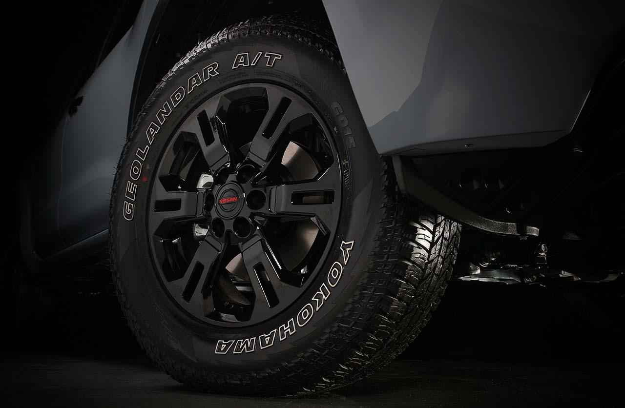 Llantas Nueva Nissan Frontier Pro-4X 2021