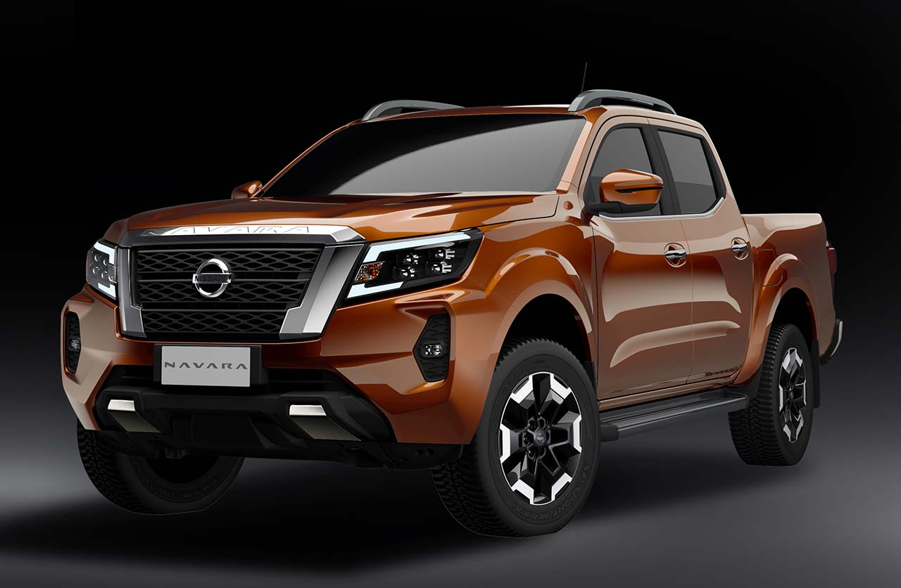 Nueva Nissan Navara - Frontier 2021 (restyling)