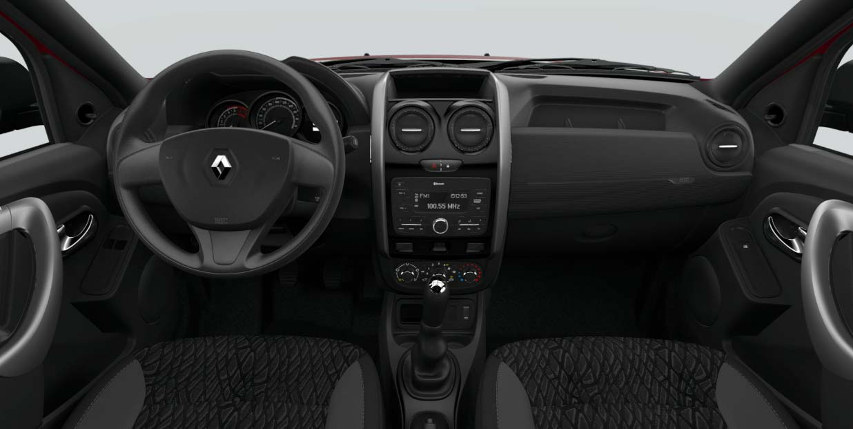 Interior Renault Duster Oroch Profesional