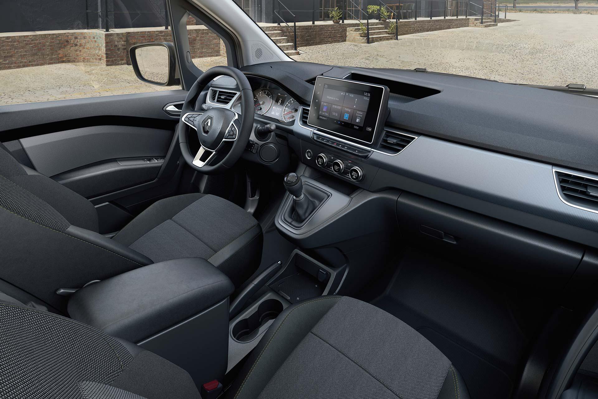Interior Nueva Renault Kangoo 2021