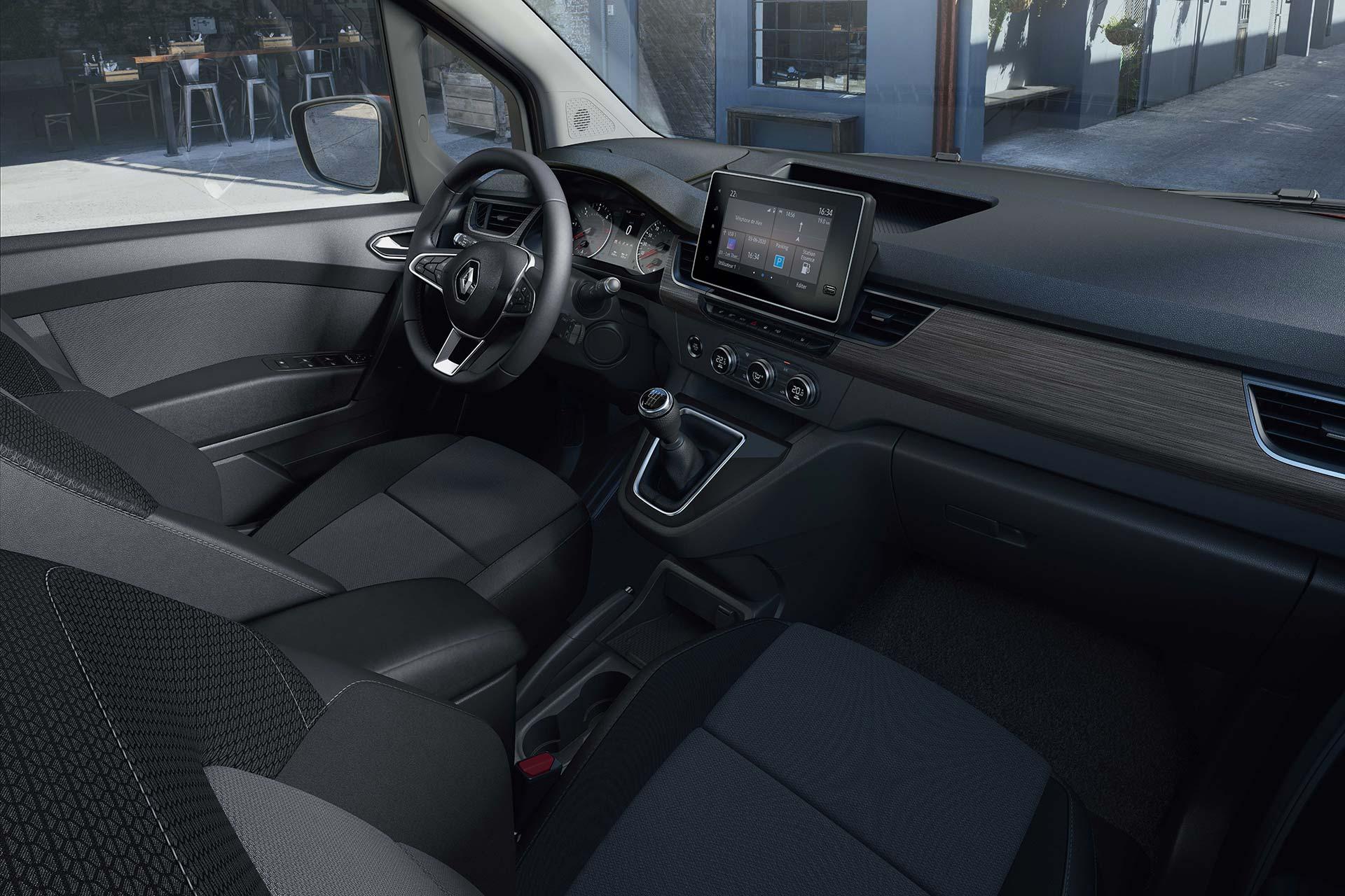 Interior Nueva Renault Kangoo Combi 2021