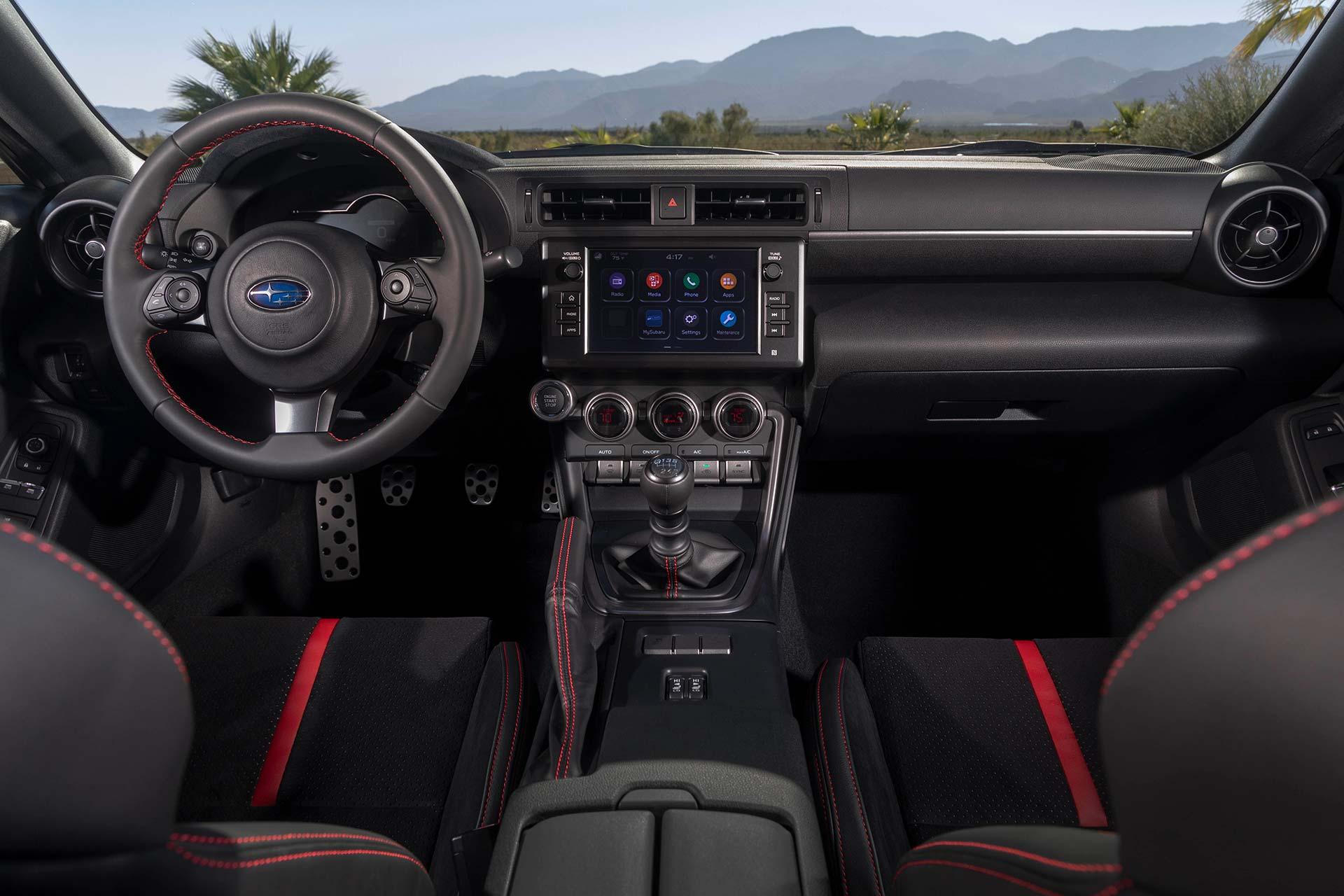 Interior nuevo Subaru BRZ 2022