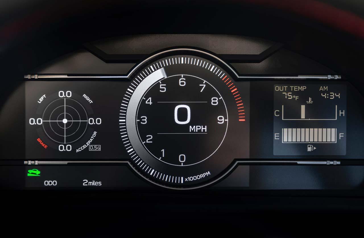 Tablero Subaru BRZ 2022