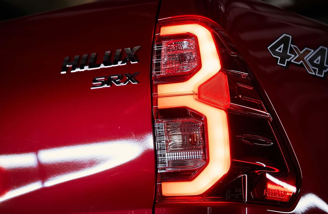 Nueva Toyota Hilux SRX 2021
