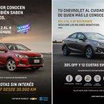 Chevrolet dice presente en el Cyber Monday con promociones exclusivas